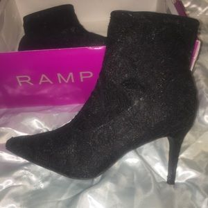 Rampage lace booties